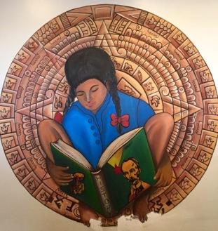 Picture of mural at Instituto Familiar de la Raza. Photographer: Francisco Gonzalez